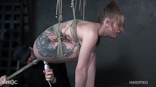 inked slattern Cora Moth BDSM porn