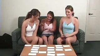 Mia, Ashley & Ashton Simulate Strip Memory